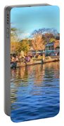 A View Of Disneyland From Tom Sawyer Island  Portable Battery Charger