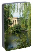 A View Of The Parthenon 1 Portable Battery Charger