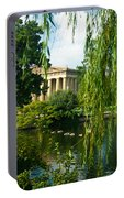 A View Of The Parthenon 15 Portable Battery Charger