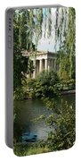 A View Of The Parthenon 6 Portable Battery Charger