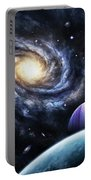 A View To A Nearby Galaxy From A Gas Portable Battery Charger