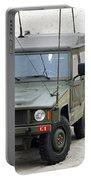 A Vw Iltis Jeep Of A Unit Of Belgian Portable Battery Charger by Luc De Jaeger
