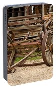A Wagon And Wheels Portable Battery Charger