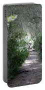 a walk about fairy wood - Mediterranean autumn forest Portable Battery Charger