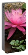 A Waterlily's Grace Portable Battery Charger