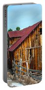 Abandoned Barn Ll Portable Battery Charger