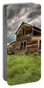 Abandoned Farm Buildings Saskatchewan Portable Battery Charger