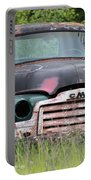 Abandoned Gmc Truck Portable Battery Charger