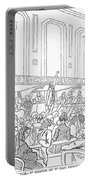 Abolition Cartoon, 1859 Portable Battery Charger