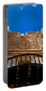 Above The Front Entry San Xavier Mission Portable Battery Charger