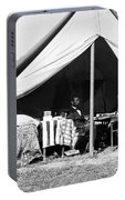 Abraham Lincoln Meeting With General Mcclellan - Antietam - October 3 1862 Portable Battery Charger