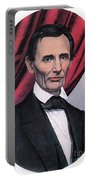 Abraham Lincoln, Republican Candidate Portable Battery Charger by Photo Researchers
