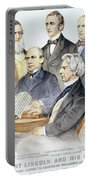 Abraham Lincolns Cabinet Portable Battery Charger