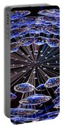 Abstract - Blue Diamonds Portable Battery Charger