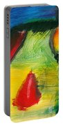 Abstract - Acrylic - Primitives Portable Battery Charger by Mike Savad