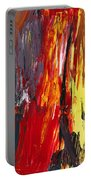 Abstract - Acrylic - Rising Power Portable Battery Charger by Mike Savad