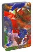 Abstract - Acrylic - Synthesis Portable Battery Charger