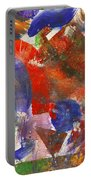 Abstract - Acrylic - Synthesis Portable Battery Charger by Mike Savad