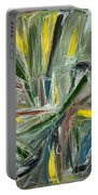 Abstract Art Fifteen Portable Battery Charger