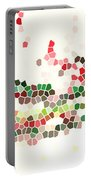 Abstract Celebration Portable Battery Charger