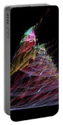 Abstract Christmas Tree 1 Portable Battery Charger