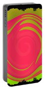 Abstract Color Merge Portable Battery Charger