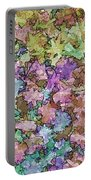 Abstract Colors Pale Portable Battery Charger