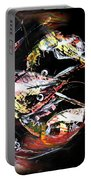 Abstract Crawfish Portable Battery Charger