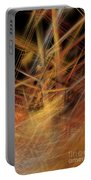 Abstract Crisscross Portable Battery Charger