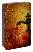 Abstract Door Portable Battery Charger