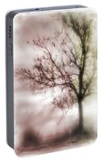 Abstract Fall Trees Portable Battery Charger