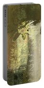 Abstract Floral 04v2g Portable Battery Charger