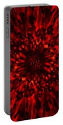 Abstract Flower Portable Battery Charger