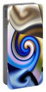 Abstract Fusion 114 Portable Battery Charger by Will Borden