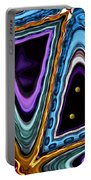 Abstract Hearts Portable Battery Charger