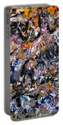 Abstract Interconnection Portable Battery Charger