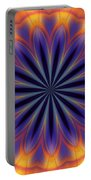 Abstract Kaleidoscope Portable Battery Charger