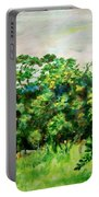 Abstract Landscape 6 Portable Battery Charger