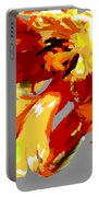 Abstract Parrot Tulip Portable Battery Charger