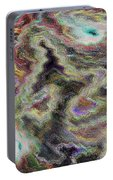 Abstract Pastel Art Portable Battery Charger