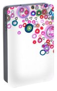 Abstract Pattern Valentine Portable Battery Charger