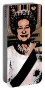 Abstract Portrait Of A Queen Portable Battery Charger