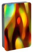 Abstract Rising Up Portable Battery Charger