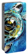 Abstract Sea Turtle In C Minor Portable Battery Charger