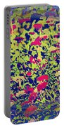 Abstract Spring Portable Battery Charger