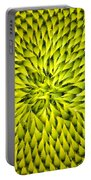 Abstract Sunflower Pattern Portable Battery Charger