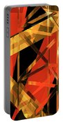 Abstract Tan 2 Portable Battery Charger