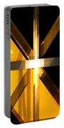 Abstract Tan 3 Portable Battery Charger