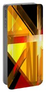 Abstract Tan 5 Portable Battery Charger