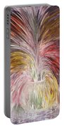 Abstract Vase And Energy Mouvement Portable Battery Charger